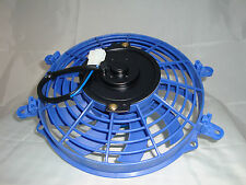 "New Blue Colour HIGH PERFORMANCE 9"" INCH THERMO FAN electric fan"