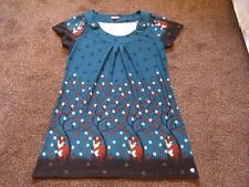 CUTE TUNIC TOP/DRESS FROM JOE BROWN  SIZE 18  VGC