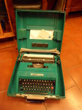 Olivetti Ivrea portable typewriter Studio45 with case Ettore Sottsass 1967 Italy