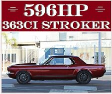 1965 Ford Mustang 596 HP 363 STROKER SHOW CAR