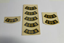 Original DDR Wasserbild Abziehbild S50N für Seitendeckel m Originallack ggf Tank