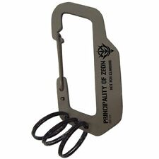 Mobile  Suits Gundam Zeon Military Charabiner Key Chain Ring Accessory