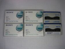 Lot of 6 Sony SDX1-CL 8mm AIT Cleaning Cartridges for AIT-1, AIT-2, AIT-3