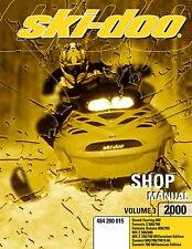 Ski-Doo service shop manual 2000 GRAND TOURING 600 & 2000 FORMULA Z 600 / 700