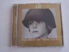 CD U2 THE BEST OF 1980 - 1990 , 14 TITRES . BON ETAT .