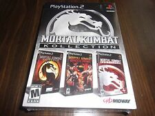MORTAL KOMBAT KOLLECTION ps2 *BRAND NEW/FACTORY SEALED* Collection Free Shipping