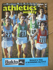 ATHLETICS WEEKLY FEBRUARY 3rd 1979 IAC CROSS COUNTRY AT CRYSTAL PALACE