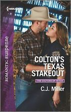 Colton's Texas Stakeout (The Coltons of Texas)-ExLibrary