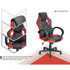 Luxury PU Sports Racing Gaming Oiffice Reclining Computer Eexctive Leather Chair