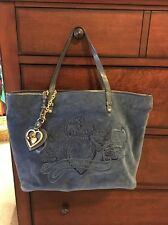 Juicy Couture Blue Tote Bag