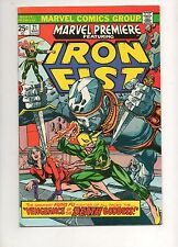 Marvel Premiere #21 VF/NM 9.0 WHITE PAGES! 1ST MISTY KNIGHT! IRON FIST 1975! 15
