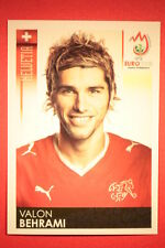 Panini EURO 2008 N. 62 BEHRAMI HELVETIA NEW With BLACK BACK TOPMINT !!!