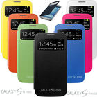 FLIP PU Leather CASE SVIEW AUTO SLEEP COVER FOR Samsung GALAXY S4 Mini i9190