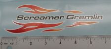 Sears Screamer Gremlin decals