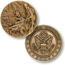 NEW U.S. Army Base Fort Bragg, NC Challenge Coin. 60537.