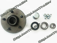 Holden Ford Wheel Hub 5 Stud Trailer Boat Caravan Part Bearing Kit Rim Seal Cap