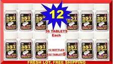DBI 357 Super Magnum Energy Caffeine Tablets 36 ct (Lot of 12X) 432 Pills 07/18