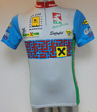 "Kastle Granit Beisser Cycle Cycling Shirt Jersey Size 4 38-40"" Ciclismo Trikot"