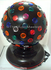 """NEW! Lighted Jumbo 12"""" Color Rotating Party Ball Lamp Spinning Disco Dance Light"""