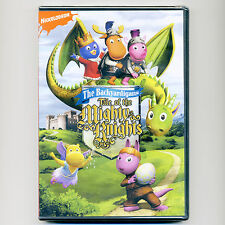 Backyardigans Mighty Knights children animated TV episodes, new DVD Nick Jr PBS