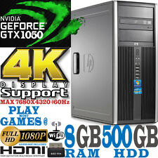 Rápido HP Videojuego Ordenador Quad Core i5 8GB nVidia Geforce GTX 1050 2GB