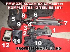 PMW-320 XDCAM EX, FULL HD Camcorder, Sony Professional, HD-SDI, HDMI Broadcast