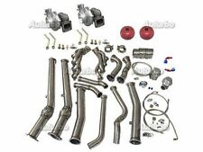 Twin Turbo Manifold Donw pipe Kit SUIT 04-06 Pontiac GTO Holden Monaro LS1 LS2