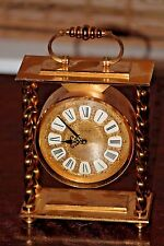 Imhof Isely Swiss carriage clock, 8-day striking.  Minor TLC needed