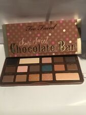 Too Faced Semi Sweet Chocolate Bar Eye Shadow Palette. With Receipt