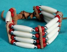 CHIRICAHUA APACHE 4-ROW BONE BRACELET KIT COLOUR CHOICE