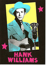 HANK WILLIAMS  POSTER. C&W, Country Music.