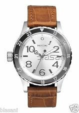 Nixon Original 38-20 Leather A467-1888 Saddle Gator 38mm Watch