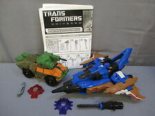 "Transformers Universe ""DIRGE & ROADBUSTER"" 100% Complete ""TARGET EXCLUSIVE"" 2008"