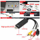 Hot Sale USB 2.0 Video Audio VHS to DVD HDD TV Converter Capture Card Adapter RF