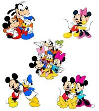 Mickey Mouse and the Gang 5 pk T Shirt Iron on transfer