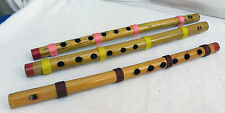 Indian Bamboo Flute - Thread Wrapped - New