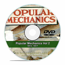Popular Mechanics Magazine Collection in PDF on DVD, Vol 2, 1913-1917, V12