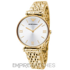 *NEW* EMPORIO ARMANI LADIES GIANNI GOLD T-BAR WATCH - AR1877 - RRP £329