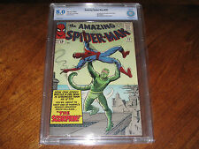 Amazing Spider-Man #20 CBCS VF 8.0 1st Appearance of The Scorpion! Not CGC