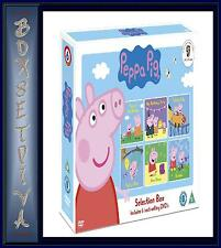 PEPPA PIG - SELECTION BOX - 6 BEST SELLING DVDS **BRAND NEW BOXSET **