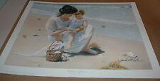 Sandra Kuck REFLECTIONS OF LOVE 16x20 open ed. print ARTIST SIGNED! Mother's Day