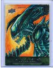 UPPER DECK ALIEN ANTHOLOGY ARTIST SKETCH CARD by KEN RACHO
