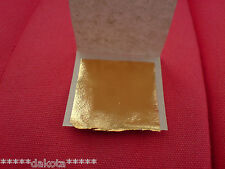 24ct Gold Leaf sheets ~ Gilding Kits also available.