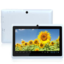 "7"" White Quad Core A33 Google Android 4.4 Camera WiFi 1G/8GB Tablet PC MID"