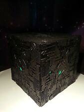 STAR TREK BORG CUBE LIGHT UP MODEL STARSHIPS COLLECTION EAGLEMOSS ELECTRONIC