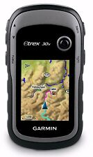 "Garmin eTrex 30x Handheld Hiking GPS 2.2"" Display Worldwide Basemap 010-01508-10"