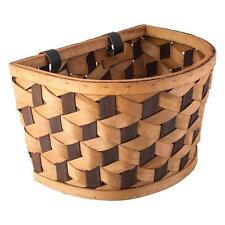 New Huffy Woven/Wicker Hanging Basket w/straps for Beach Cruiser bike,bicycle