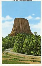 DEVIL'S TOWER NATIONAL MONUMENT,BELLE FOURCHE RIVER-NORTHEASTERN,WY-GIANT CARD