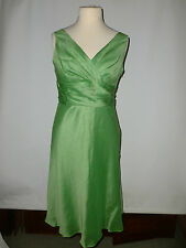 LADIES  MONSOON LINEN AND SILK  DRESS  SIZE UK16