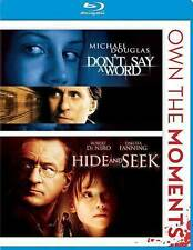 Don't Say a Word/Hide and Seek (Blu-ray Disc, 2012) New